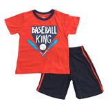 Thời trang trẻ em : Bộ Place - BASEBALL KING