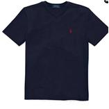 Thời trang trẻ em : Áo thun cổ tim Polo - Xanh đen
