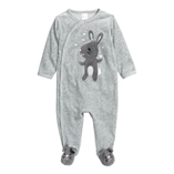 Thời trang trẻ em : Body suit lHM liền vớ - Chuột nhỏ