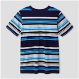 Thời trang trẻ em : Áo bé trai Catjack - Sọc Xanh