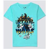 Thời trang trẻ em : Áo thun Gap  - Star wars xanh