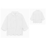 Thời trang trẻ em : Zara vạt thêu hoa -trăng