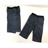 Thời trang trẻ em : Quần short Jean lưng Uniqlo