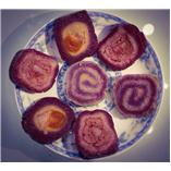 Bánh tét lá cẩm - mặn