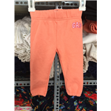 Thời trang trẻ em : Quần nỉ Gap - Cam