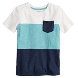 Thời trang trẻ em : Áo Jumping Beans bé trai - Sọc Trắng Xanh