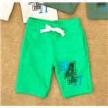 Thời trang trẻ em : Quần short thun da cá Zara Boys - Xanh lá