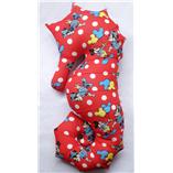 Thời trang trẻ em : Gối cá ngựa 10 - Mickey đỏ 75cm