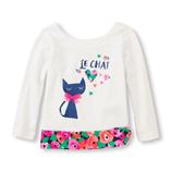 Thời trang trẻ em : Áo Place 19 - Mèo con