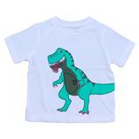 Thời trang trẻ em : áo thun nhí - Khủng long trăng