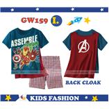 Thời trang trẻ em : GW 159 - Siêu anh Hùng