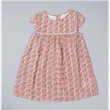 Thời trang trẻ em : Váy The Little White - Hoa đỏ