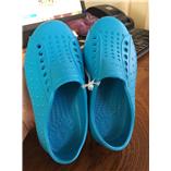 Thời trang trẻ em : Giày Native Eva - xanh dương
