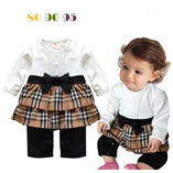 Thời trang trẻ em : HQ520 - Body suit váy