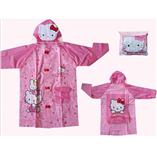 Thời trang trẻ em : Áo mưa - Hello Kitty