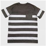 Thời trang trẻ em : Áo bé trai Catjack - Sọc Xám