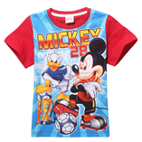 Thời trang trẻ em : AS070 - Mickey và vịt Donal