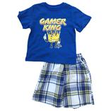 Thời trang trẻ em : Bộ Place size đại - Gamer king