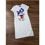 Thời trang trẻ em : Váy maxi cotton hình mickey- Trang