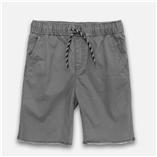 Thời trang trẻ em : Quần short kaki-Ghi Xám