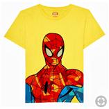 Thời trang trẻ em : Áo đại Marvel 19 - Màu Vàng
