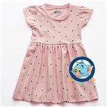 Thời trang trẻ em : Váy Xmax -  Hồng chấm bi