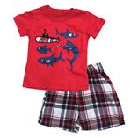 Thời trang trẻ em : Bộ Carter's B014 - Cá mập