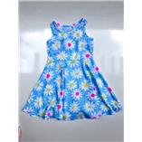 Váy jumping beans - hoa xanh
