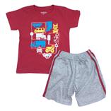Thời trang trẻ em : Bộ thun Oshkosh-ĐỎ