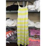 Đầm Maxi  H&M - sọc trắng vàng