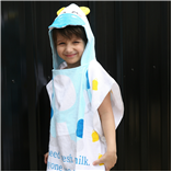 Thời trang trẻ em : Khăn choàng - Bò con chăm chỉ