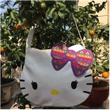 Túi Đeo mèo kitty mặt bự