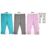 Thời trang trẻ em : Quần  legging Baby Gap - Ghi xám
