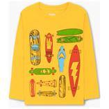 Thời trang trẻ em : Áo thun tay dài Gymboree - ván trượt