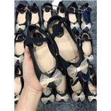 Giày búp bê - nơ kem