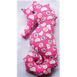 Thời trang trẻ em : Gối cá ngựa 09 - Kitty Hồng 65cm