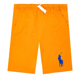 Thời trang trẻ em : Quần short Polo - Cam
