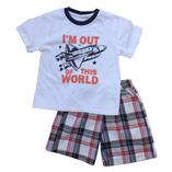 Thời trang trẻ em : Bộ Place size đại - Phi cơ