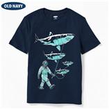 Thời trang trẻ em : Áo thun Oldnavy - Cá mập