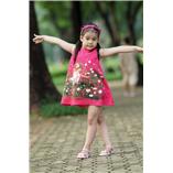 Thời trang trẻ em : Váy vẽ cách tân 003