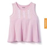 Thời trang trẻ em : Áo gymboree - thêu hoa hông