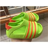 Thời trang trẻ em : SANDAL ADIDAS - xanh cốm viền cam