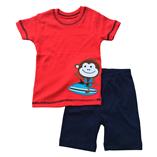 Thời trang trẻ em : Just 07 - khỉ con luớt ván