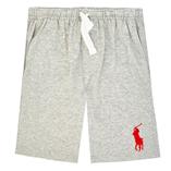 Thời trang trẻ em : Quần short Polo - Ghi xam