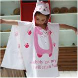 Thời trang trẻ em : Khăn choàng - Mèo và cá