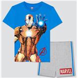 Thời trang trẻ em : Bộ Marvel 19 - Màu Biển