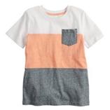 Thời trang trẻ em : Áo Jumping Beans bé trai - Sọc Trắng Cam