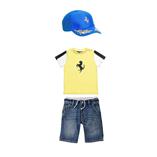 Thời trang trẻ em : Polo Bo0140 - Áo vàng