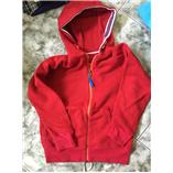 Thời trang trẻ em : Áo khoác nỉ HM - Đỏ