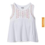 Thời trang trẻ em : Áo gymboree - thêu hoa trắng
